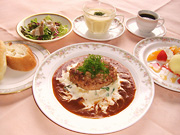 Hamburger Steak Set
